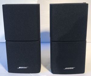 Bose Double Cube Speakers Lifestyle/Acoustimass (Black) for Sale in Scottsdale, AZ