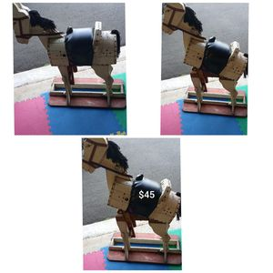 Horse Saddle Holder/ Horse Decore - Pickup is in Branford for Sale in Branford, CT