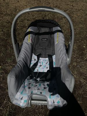 Evenflo Infant Car Seat - Teal Confetti for Sale in Vancouver, WA