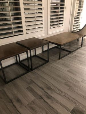 Gorgeous set of 7 tables for Sale in Phoenix, AZ
