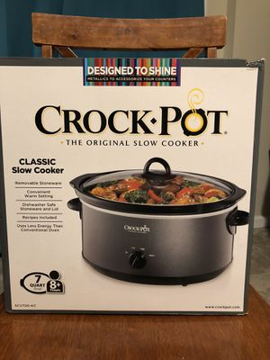 Slow cooker crock pot- Brand New in box for Sale in Wichita, KS