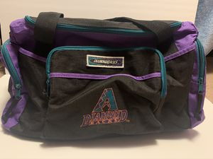 Vintage Arizona Diamond Backs Duffle Bag for Sale in Naperville, IL
