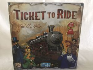 TICKET TO RIDE DAYS OF WONDER BY ALAN R. MOON TRAIN ADVENTURE BOARD GAME for Sale in Anaheim, CA