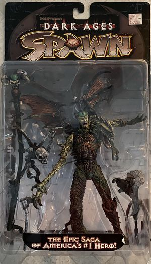 NEW 1998 Todd McFarlane Spawn Dark Ages Series 11 The Spellcaster Action Figure MOC for Sale in Santa Ana, CA