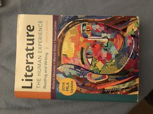 Literature the human experience for Sale in Greenville, NC