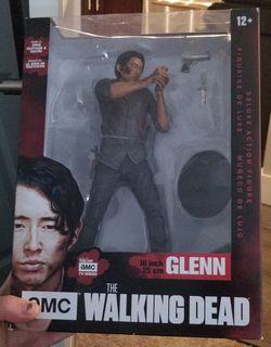 Walking dead Glenn Deluxe action figure for Sale in Everett,  WA