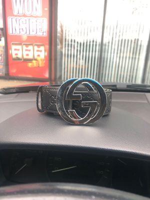 Gucci belt 32-34 for Sale in Bartlett, IL
