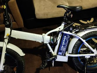 Ecotric White Fat Tire Portable and Folding Electric Bike for Sale in Hillsborough,  CA