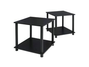 NEW: 2 Black Oak End Tables for Dining, Living, or Bedroom for Sale in Folsom, CA