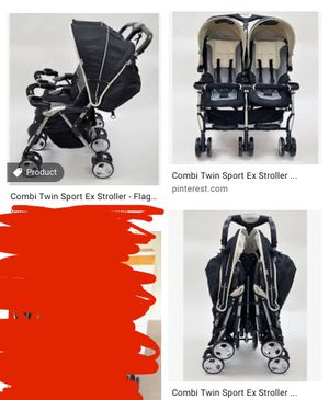 Combi double stroller for Sale in Palatine, IL