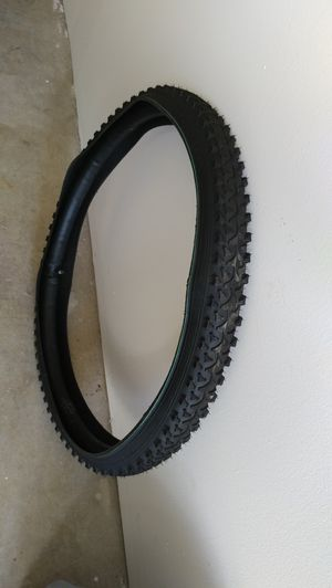 """26"""" bike tire and inner tube for Sale in Normal, IL"""