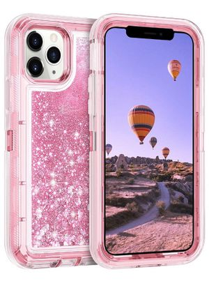 Case for iPhone 11 Pro Cases Protective Glitter Case for Women Girls Cute Bling Sparkle Heavy Duty Hard Shell Shockproof TPU Case for 2019 Release 5. for Sale in Corona, CA