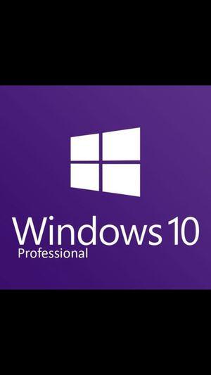 Microsoft Windows 10 Professional Pro License Key for Sale in Los Angeles, CA
