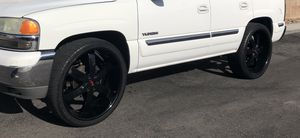 26 u2 black rims great condition not perfect for Sale in Las Vegas, NV