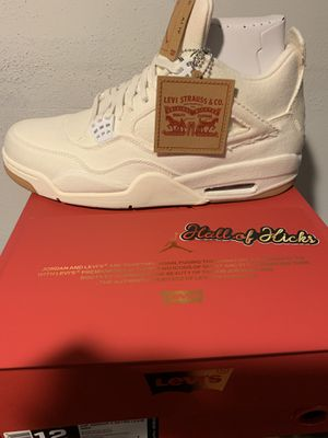 Air Jordan Levi 4 white size 12 for Sale in Valley Stream, NY