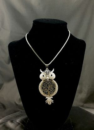Silver Tone Charming Owl Necklace for Sale in Phoenix, AZ