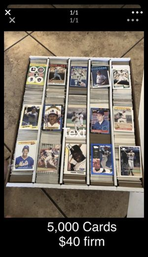Baseball card collection for Sale in Peoria, AZ