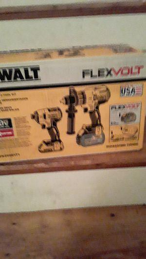 Dewalt Flexvolt 2 tool kit for Sale in DORCHESTR CTR, MA