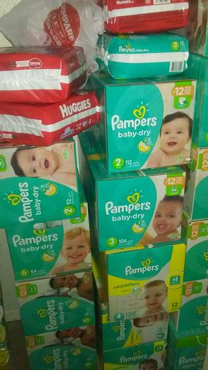Pampers Boxes $20 for Sale in Austin, TX