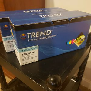 Two Trend TRD410A Black Toner Cartridges (New) for Sale in Lovettsville, VA