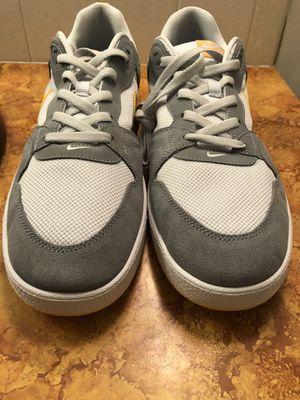 Nike SB Alleyoop Skate Shoes Gray Gold Men's Size 14 (CJ0882-002) for Sale in Bel Aire, KS