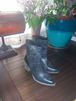 DibaTrue Leather booties for Sale in Waynesboro, VA