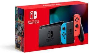 Brand new Nintendo Switch w Blue N Red Joycons