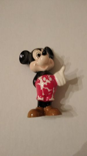 Vintage Ceramic Walt Disney Productions Mickey Figurines Japan for Sale in Charlotte, NC