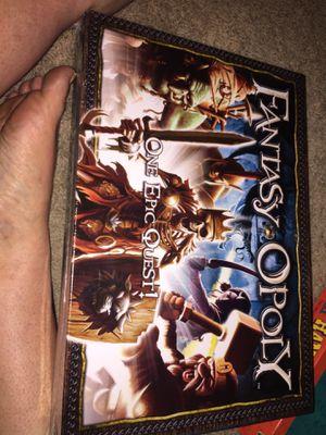 Fantasyopoly Game Board for Sale in Austin, TX