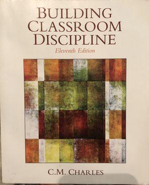 Building Classroom Discipline CSUSB textbook for Sale in Nuevo, CA