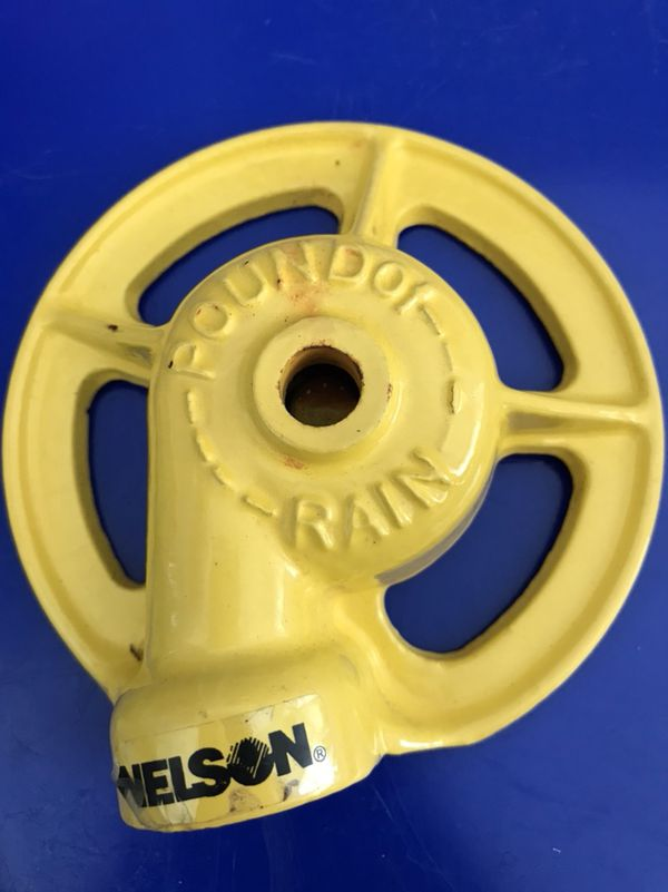 Nelson pound of water sprinkler