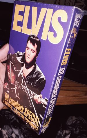ELVIS 68' Comeback SPECIAL VHS (Still Sealed in plastic) for Sale in Decatur, IN