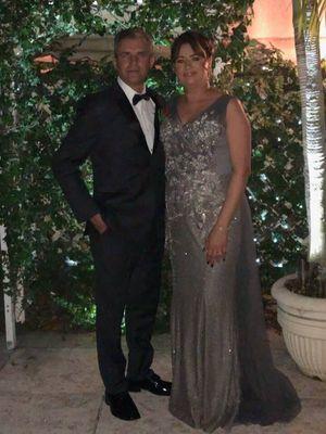 Beautiful dress Grey Dress Silver Dress Prom dress for Sale in Miami Gardens, FL