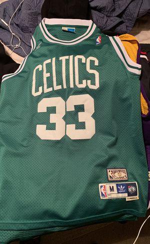 Boston Celtics Larry Bird Hardwood classics jersey for Sale in Dallas, TX
