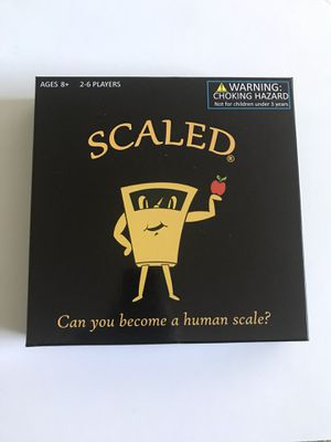 SCALED! A Brand New Exciting Family Board Game!! for Sale in Silver Spring, MD