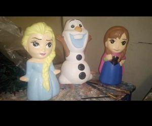 Frozen Anna Elsa piggy banks for Sale in Santa Ana, CA