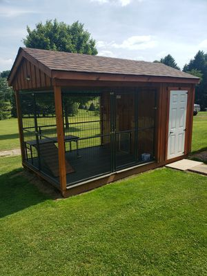 Outdoor Dog Kennel for Sale in Templeton, PA