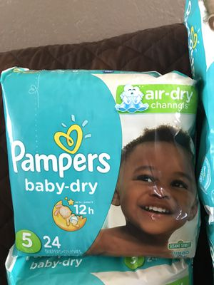 Pampers size 5 for Sale in Escondido, CA