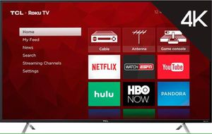 "TCL New refurbished 55"" class 4K (2160p) Roku smart LED tv for Sale in Richmond, VA"