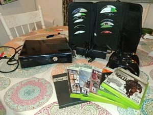 Xbox 360 plus games..Great starter bundle for Sale in Woodsboro, MD