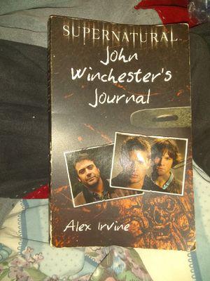 supernatural journal book for Sale in Vidalia, GA