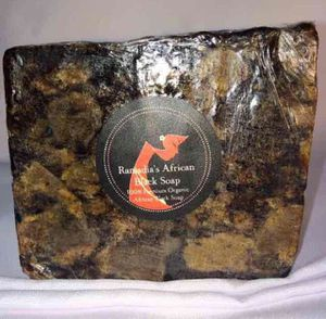 100% Organic Raw African Black Soap (2 oz) for Sale in Baltimore, MD