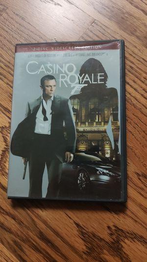 James Bond Casino Royale on DVD for Sale in Tulsa, OK