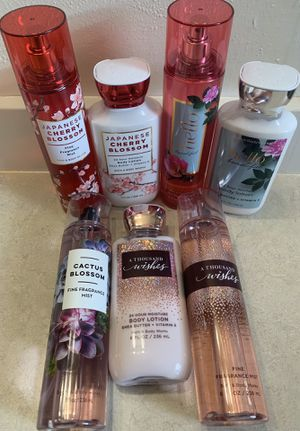 💕 NEW BATH & BODY FRAGRANCES 💕 BODY SPRAY & LOTION 💕 for Sale in Joint Base Lewis-McChord, WA