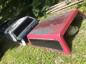 Chevy and ford camper shells and fiberglass bed covers for Sale in Spencer, IN