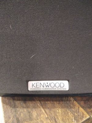 Kenwood powered subwoofer system for Sale in Carrollton, TX