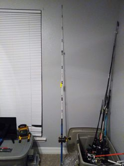 Fishing rod and reel too for Sale in Lott,  TX