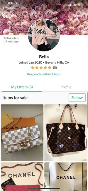 This person sales fake bags and says there real for Sale in Buena Park, CA