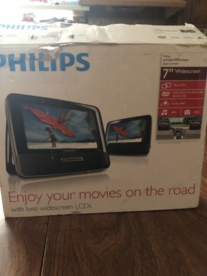 Portable DVD player dual screen for Sale in Cicero, IL