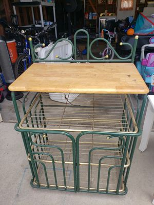 Kitchen block. Storage/island serving top for Sale in Chula Vista, CA